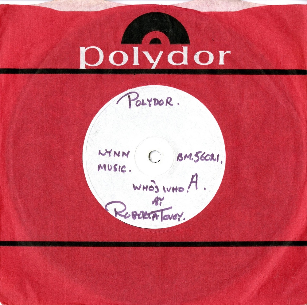 Polydor Ltd., Who's Who by Roberta Tovey (demonstration record)