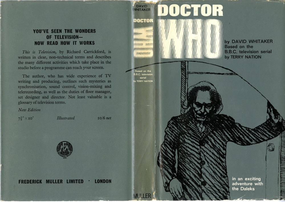 Frederick Muller Ltd., Doctor Who. In An Exciting Adventure With The Daleks by David Whitaker (2nd impression)
