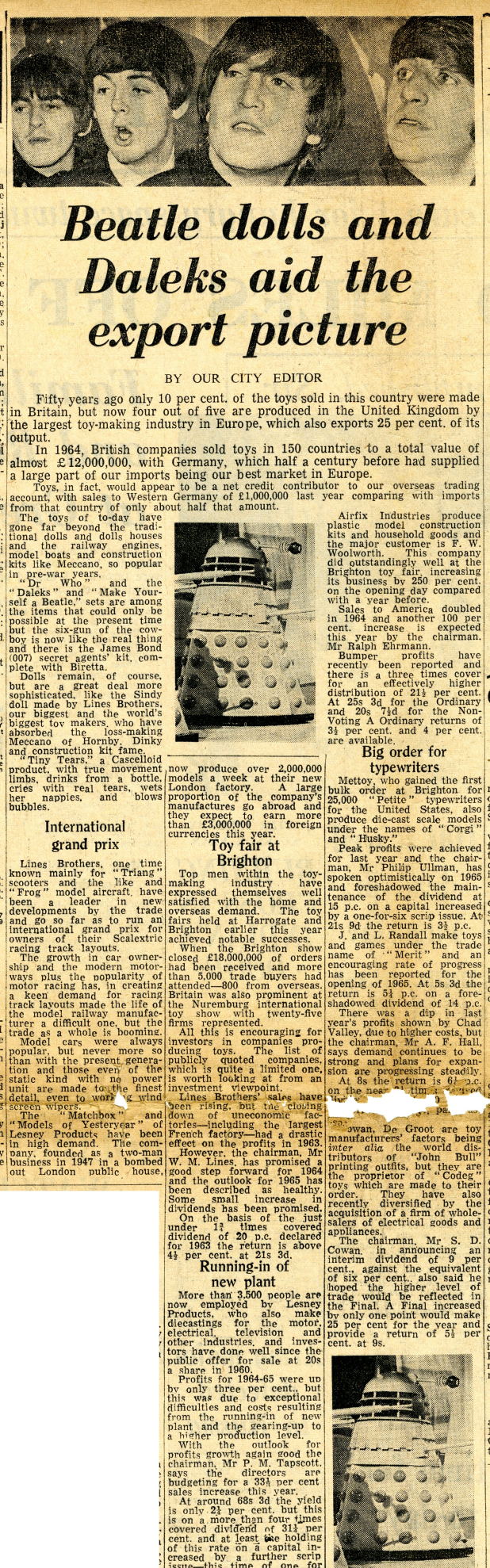 Liverpool Daily Post, June 8, 1965