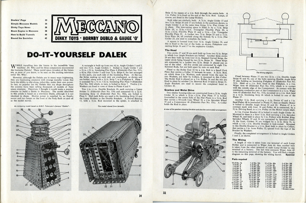 Meccano Magazine, April 1965