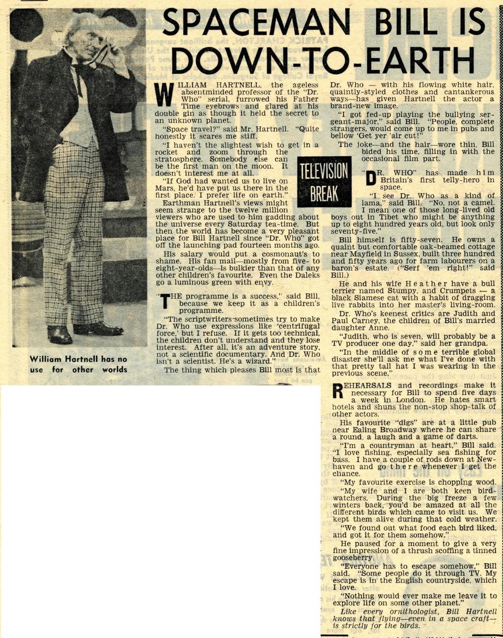 Reveille, January 7-13, 1965