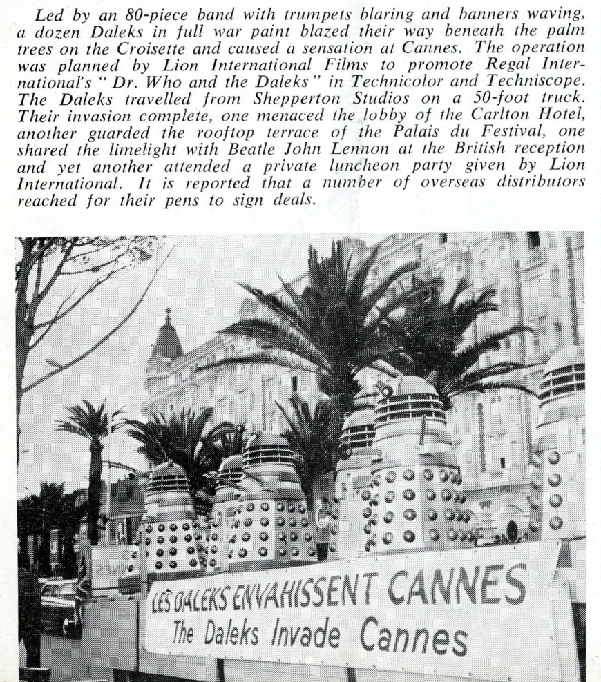 Daily Cinema, 2 June 1965
