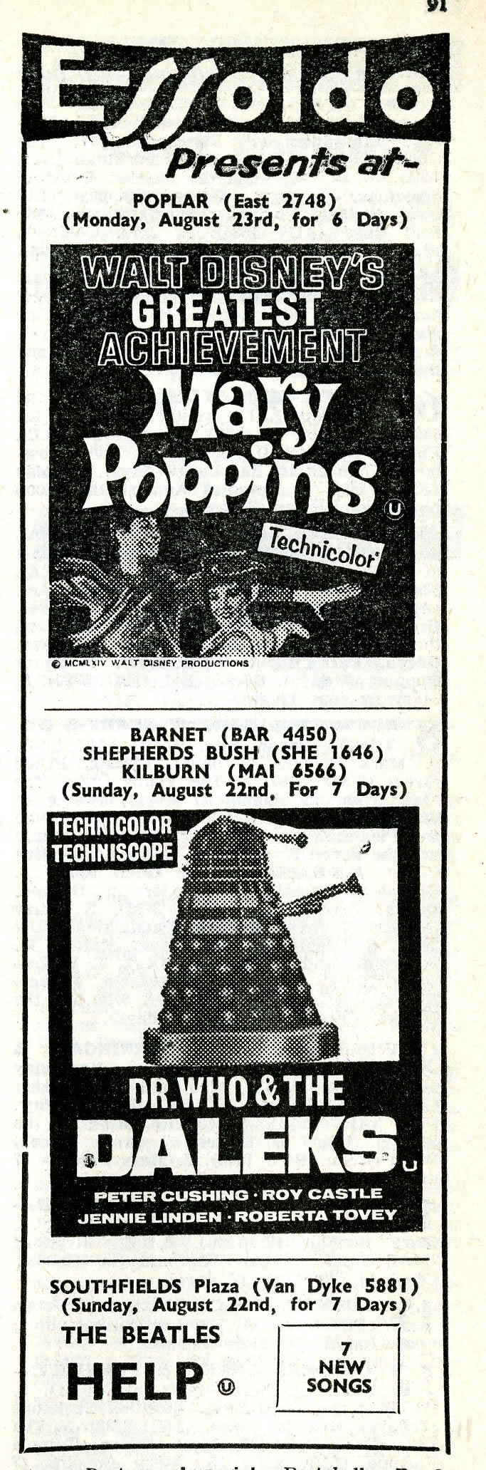 What's On In London, 2 August 1965