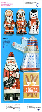 Edward Sharp & Sons Ltd. catalogue with Dalek chocolate novelty