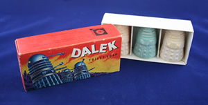 Dalek soap from Scorpion Universal Toys