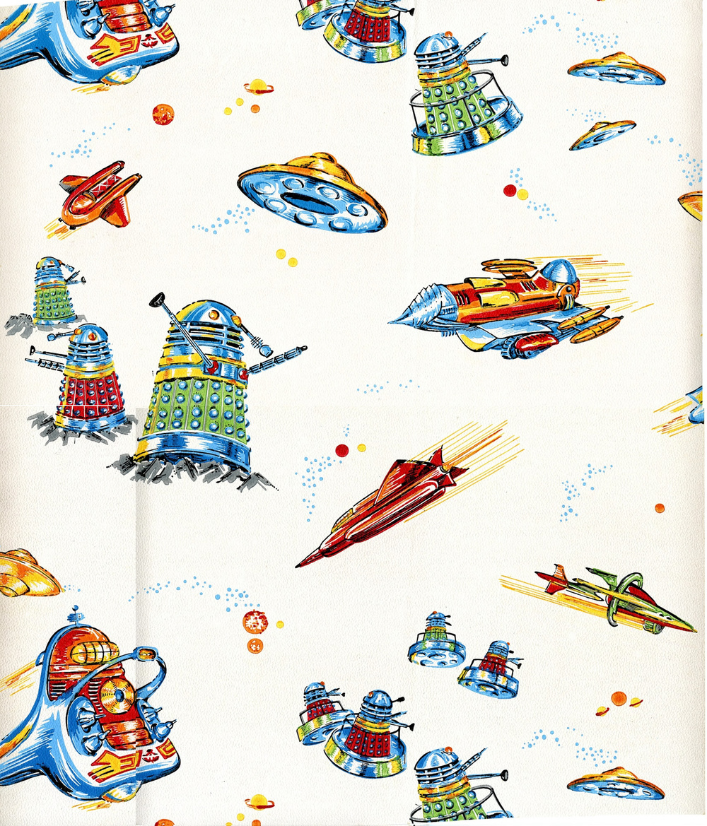 Dalek wallpaper from The Wall Paper Manufacturers Ltd.
