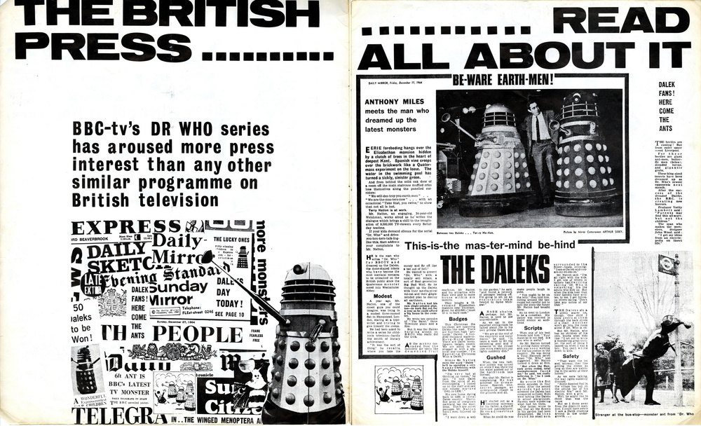 BBC TV Enterprises, promotional catalogue