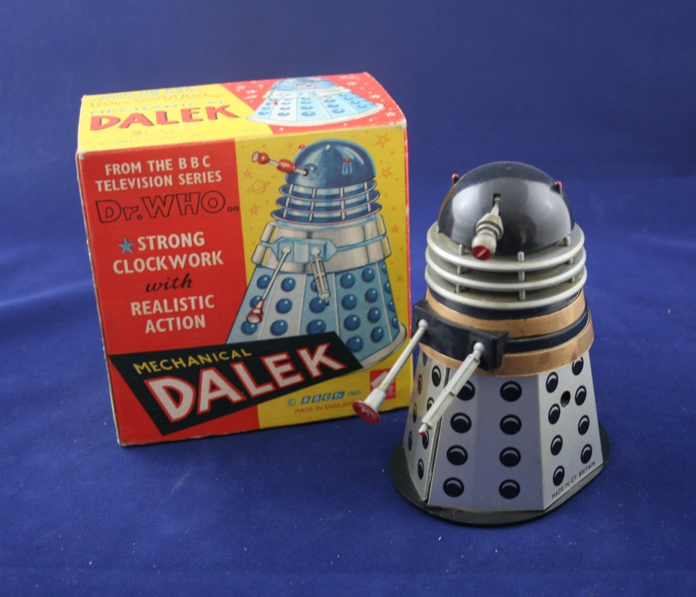 Codeg Toys, Black Mechanical Dalek, from Cowan, de Groot