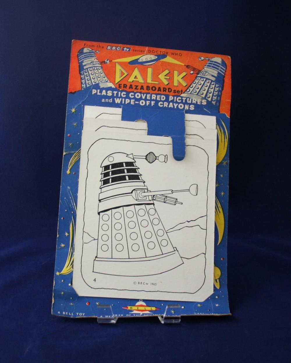 Bell Toys Ltd., Dalek Eraza-Board Set (carded version)