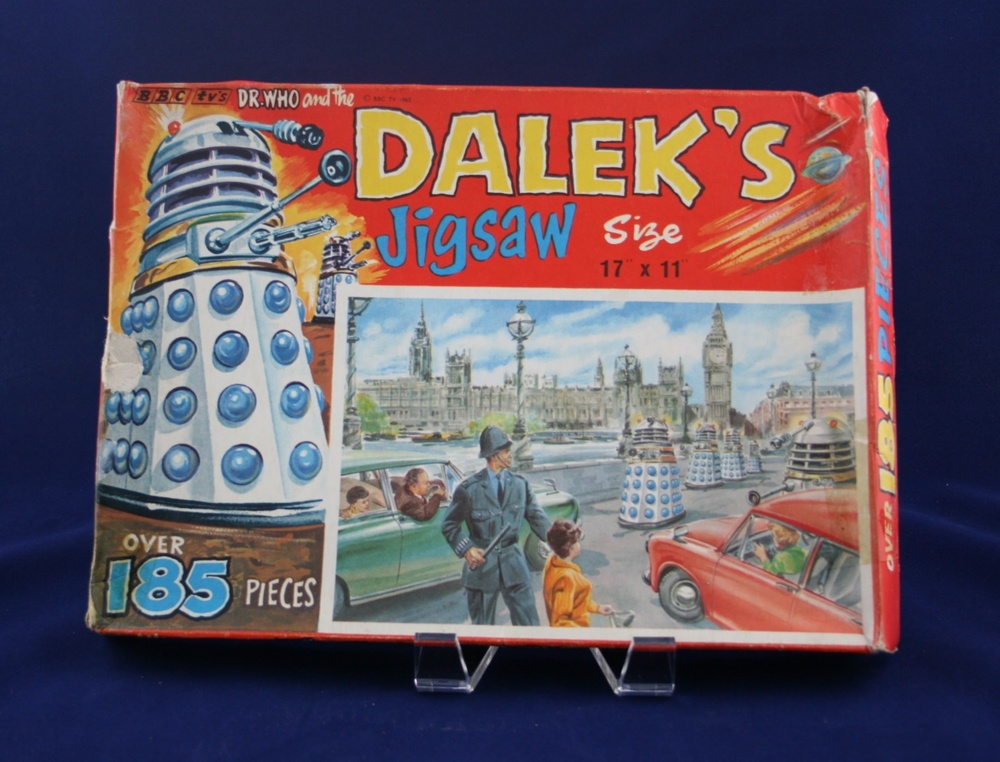 "Thomas Hope and Sankey Hudson Ltd., Dr. Who and the Daleks Jigsaw, ""Daleks in Westminster"""