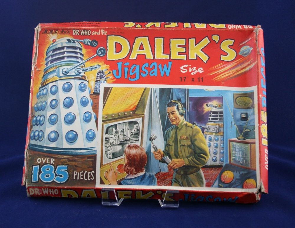 "Thomas Hope and Sankey Hudson Ltd., Dr. Who and the Daleks Jigsaw, ""In the Laboratory"""