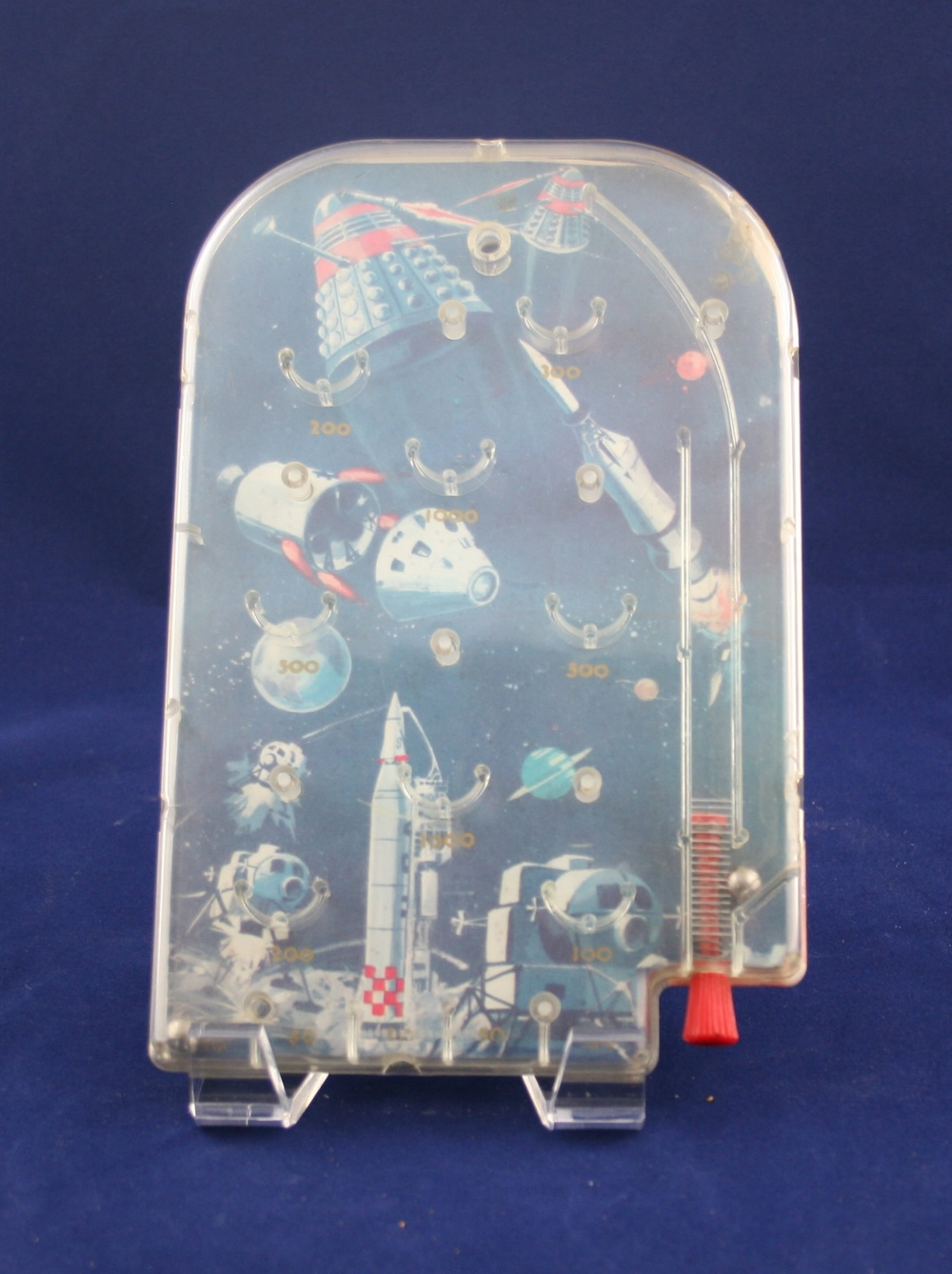 Grace Toys Ltd., small horizontal Dalek Bagatelle (probably not licensed by the BBC)