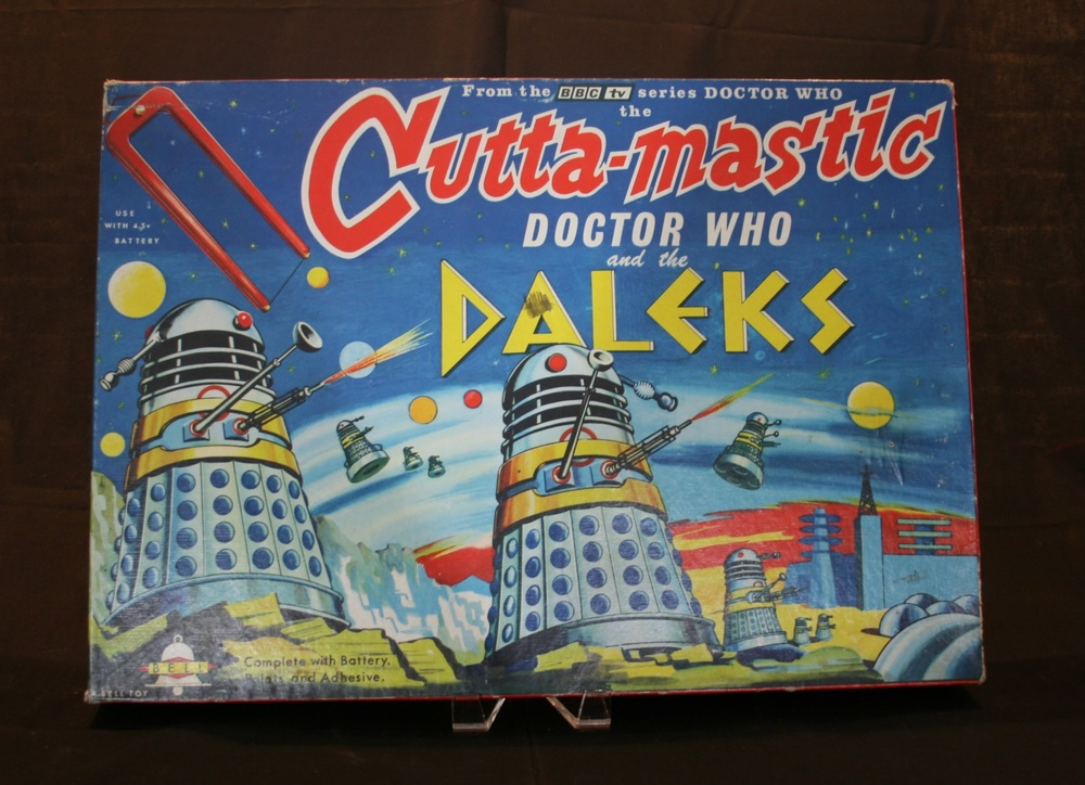 Bell Toys Ltd., large Doctor Who and the Daleks Cutta-Mastic