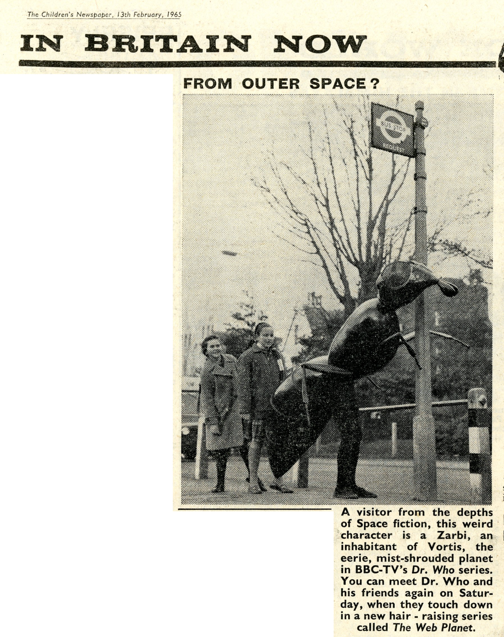 Children's Newspaper, 13 February 1965