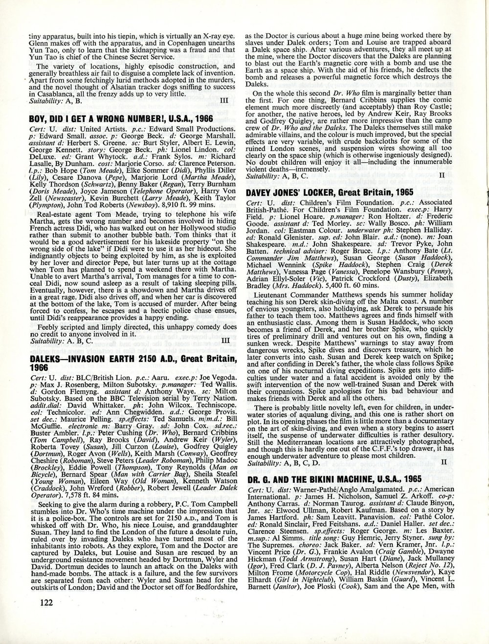 BFI Monthly Film Bulletin, August 1966