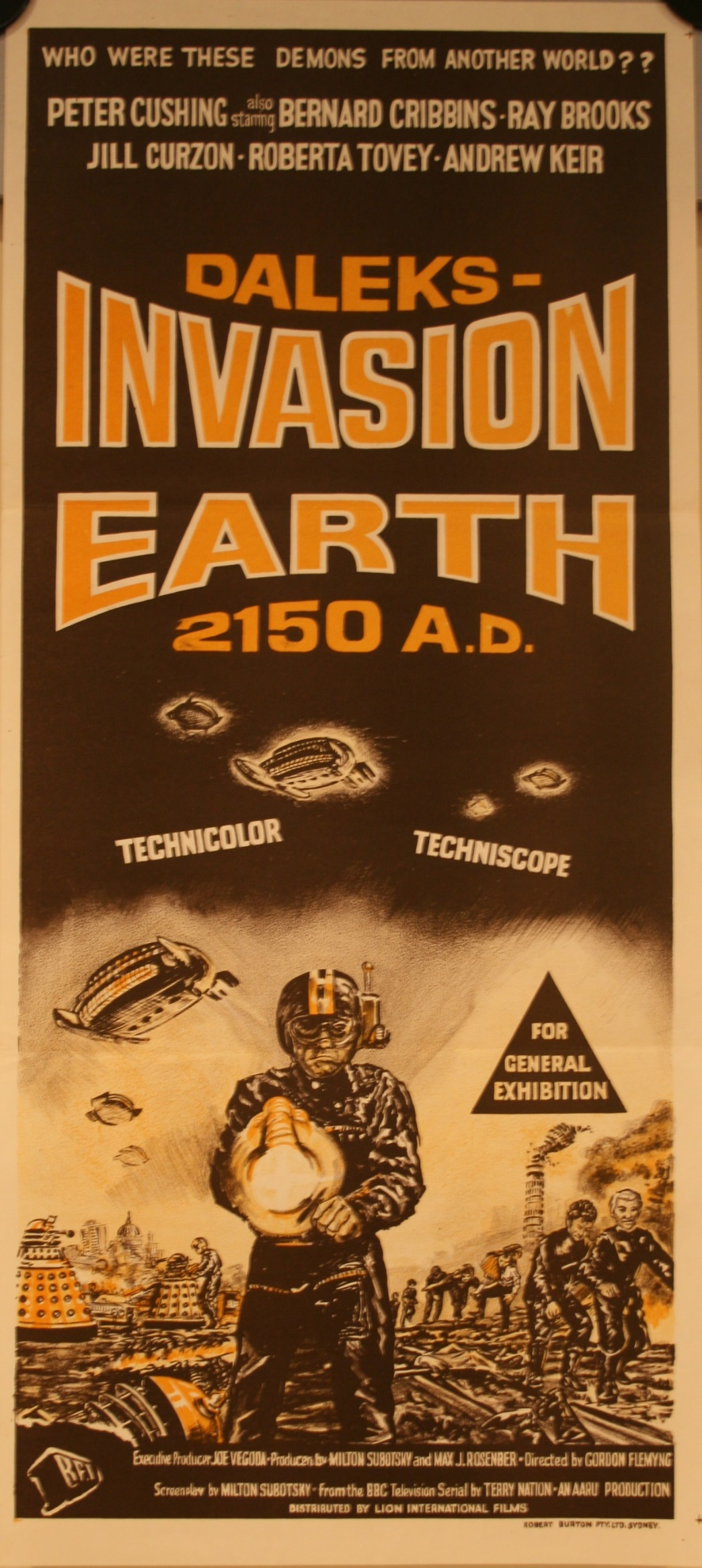 Australian Daybill Poster