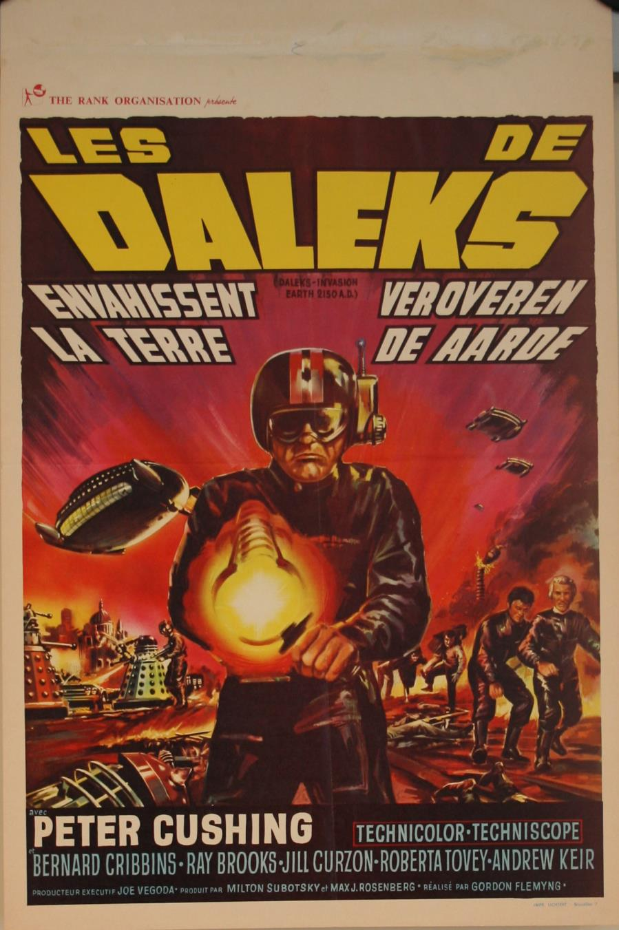 Belgian One-Sheet Poster