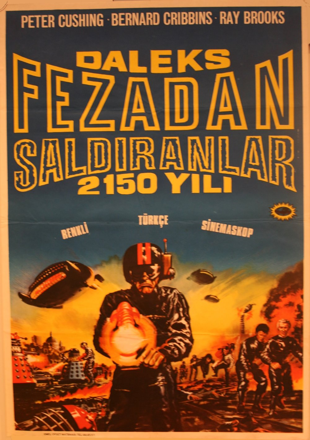 Turkish One-Sheet Poster
