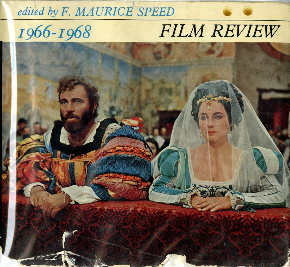 Film Review 1966-1968 (F. Maurice Speed ed.) - cover
