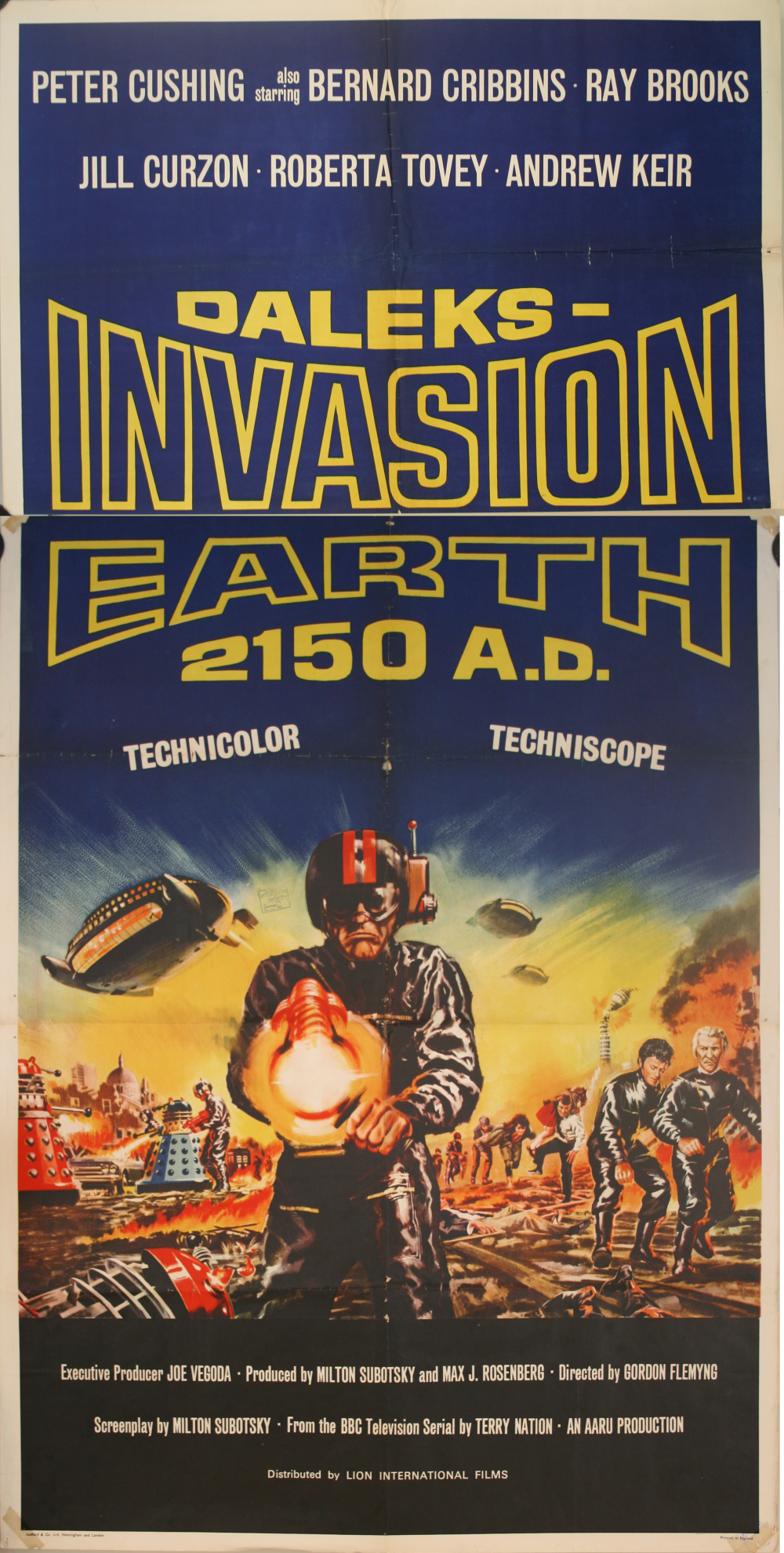 UK Three-Sheet Poster