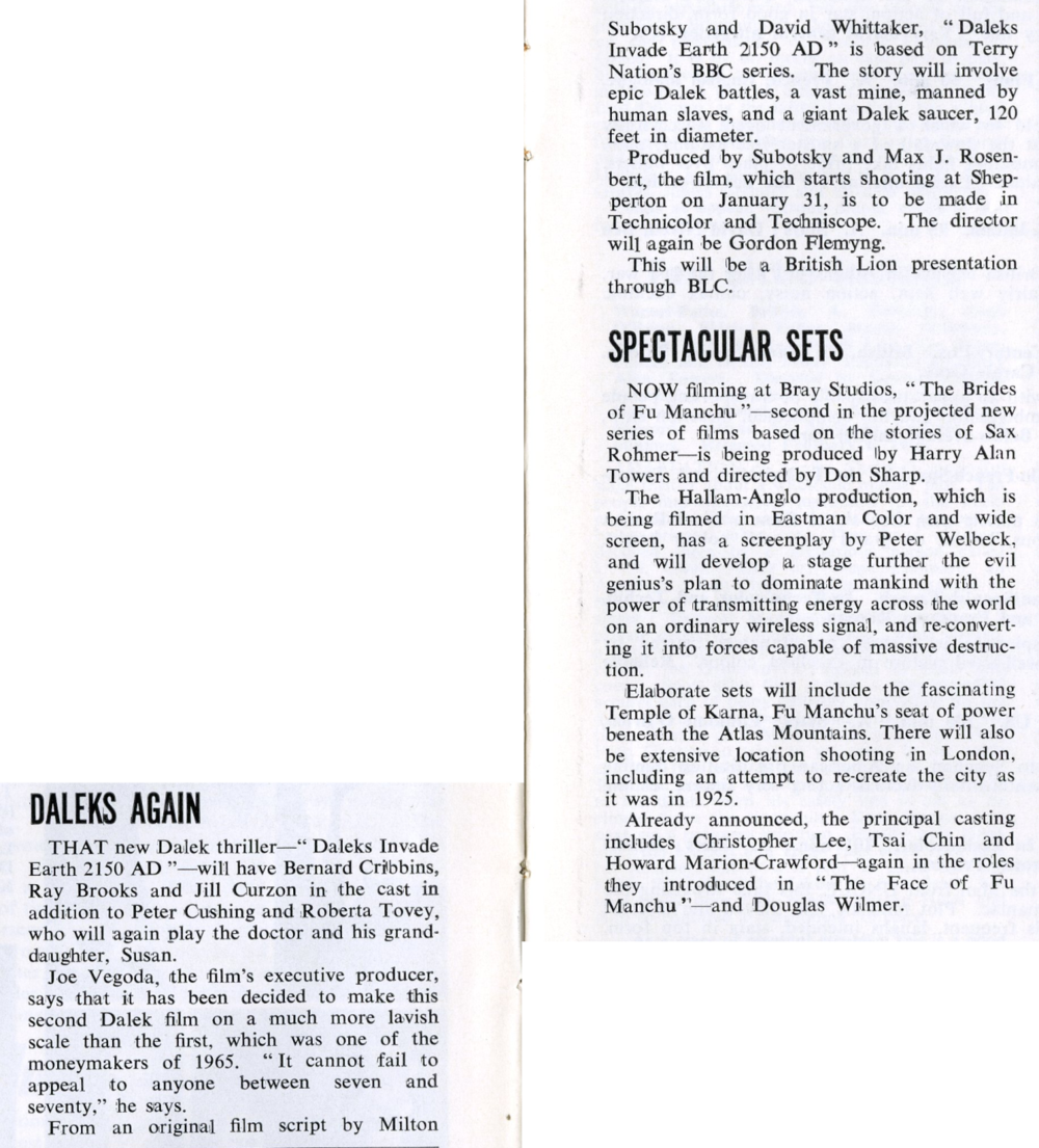 Kine Weekly, 27 January 1966