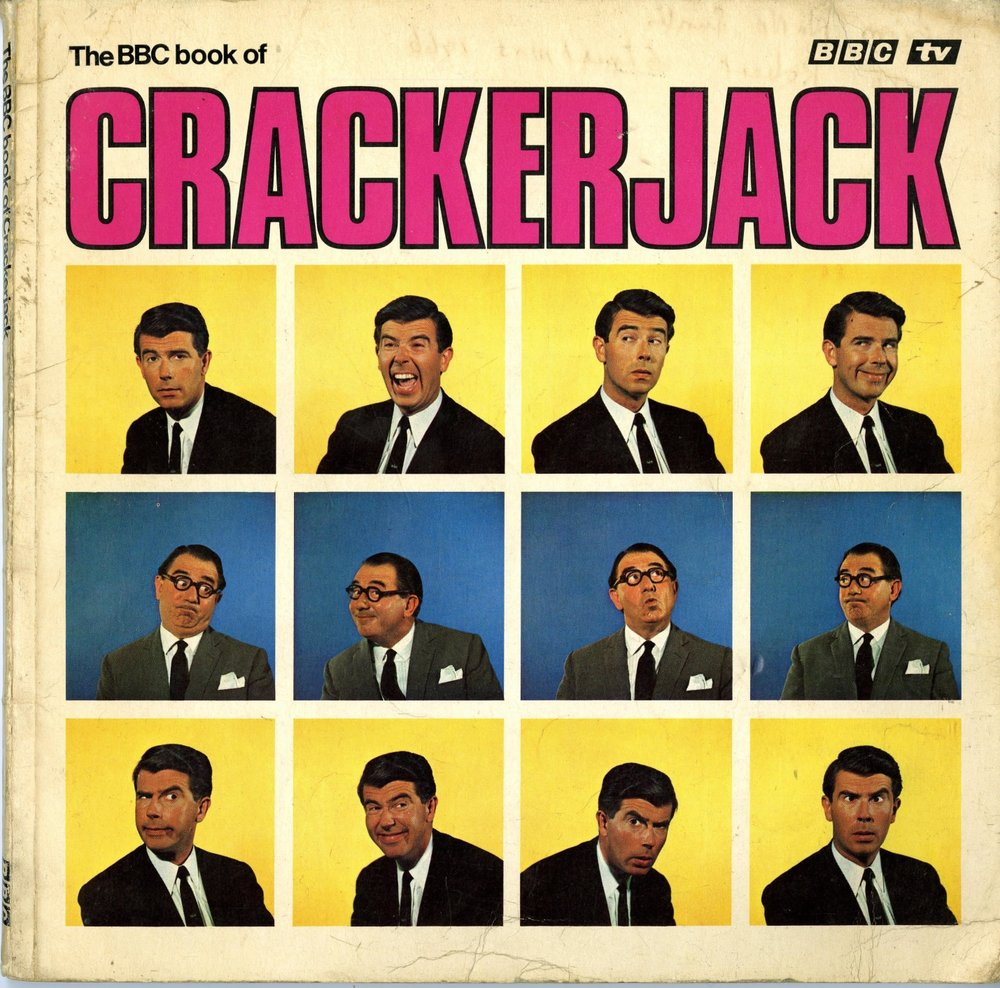Cover of the BBC Book of Crackerjack