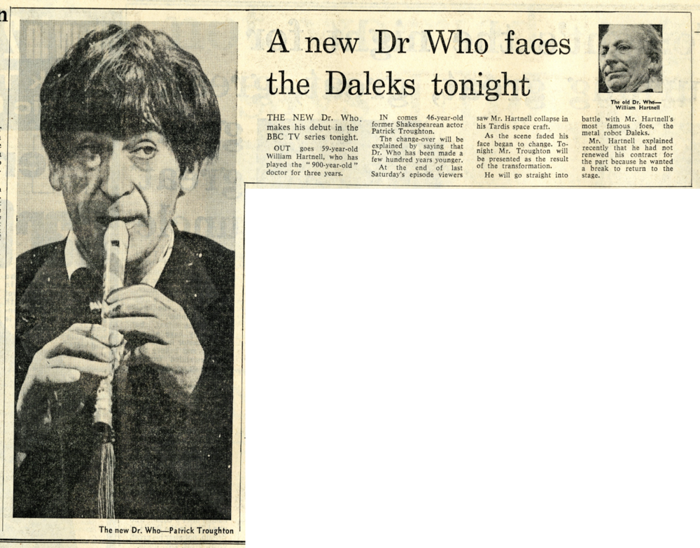 Daily Mail, 5 November 1966