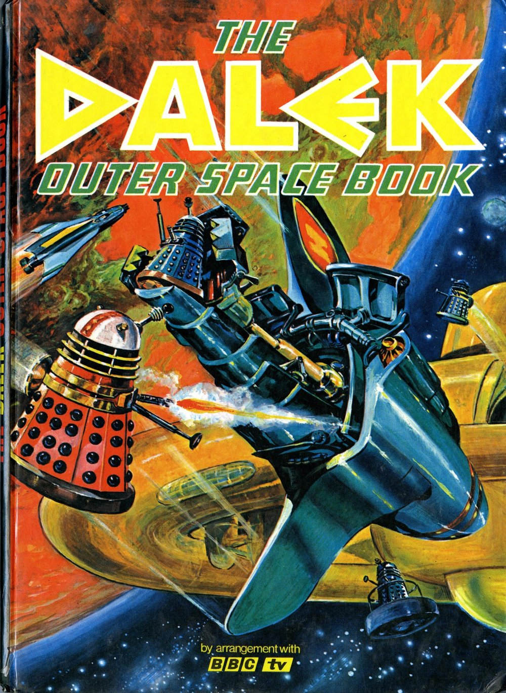 Souvenir Press Ltd., in conjunction with Panther Books Ltd., The Dalek Outer Space Book