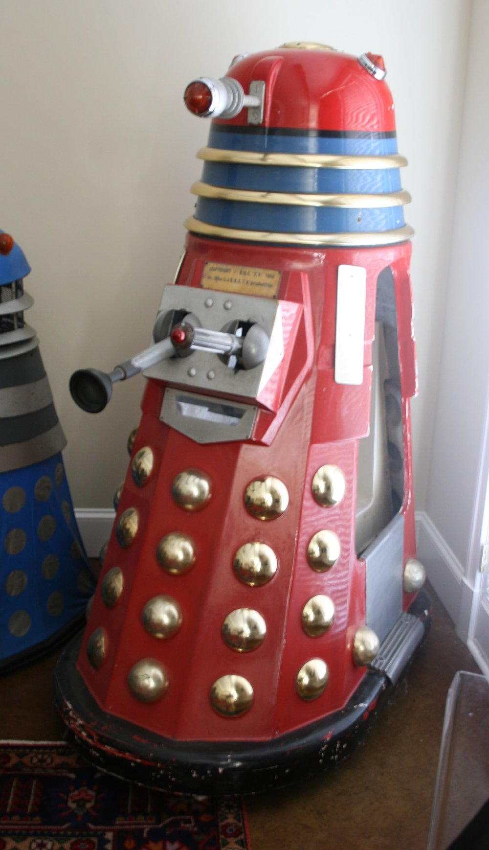Edwin Hall & Company, Dalek Kiddy Ride, (variant with periscope)