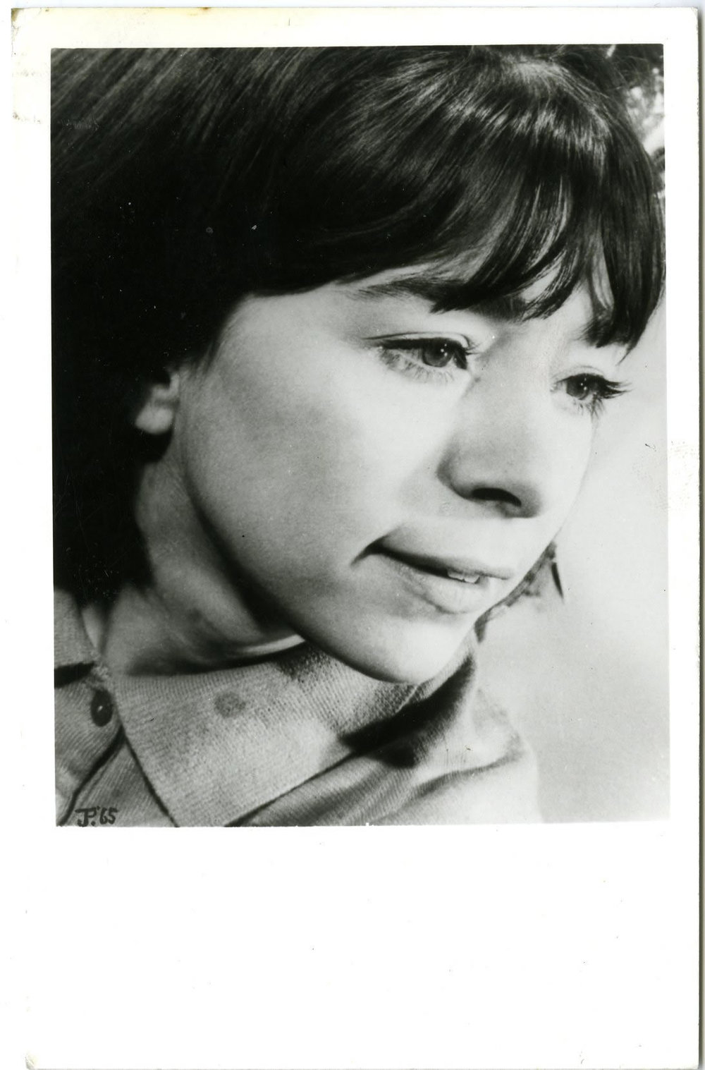 Fan card used by Jackie Lane during her time as Dodo Chaplet (from the Jackie Lane archive)
