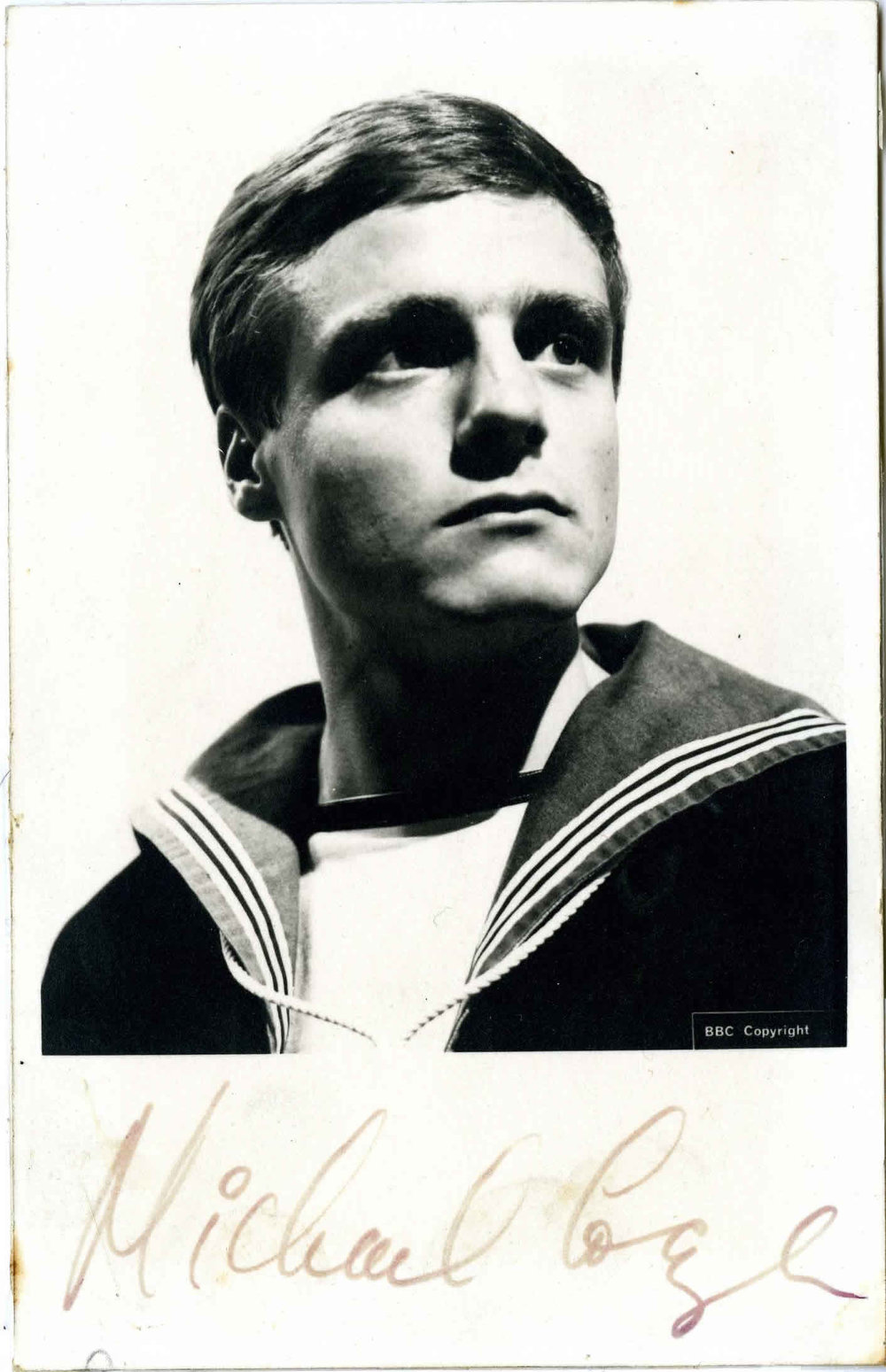 BBC Cast Card of Michael Craze as Ben Jackson