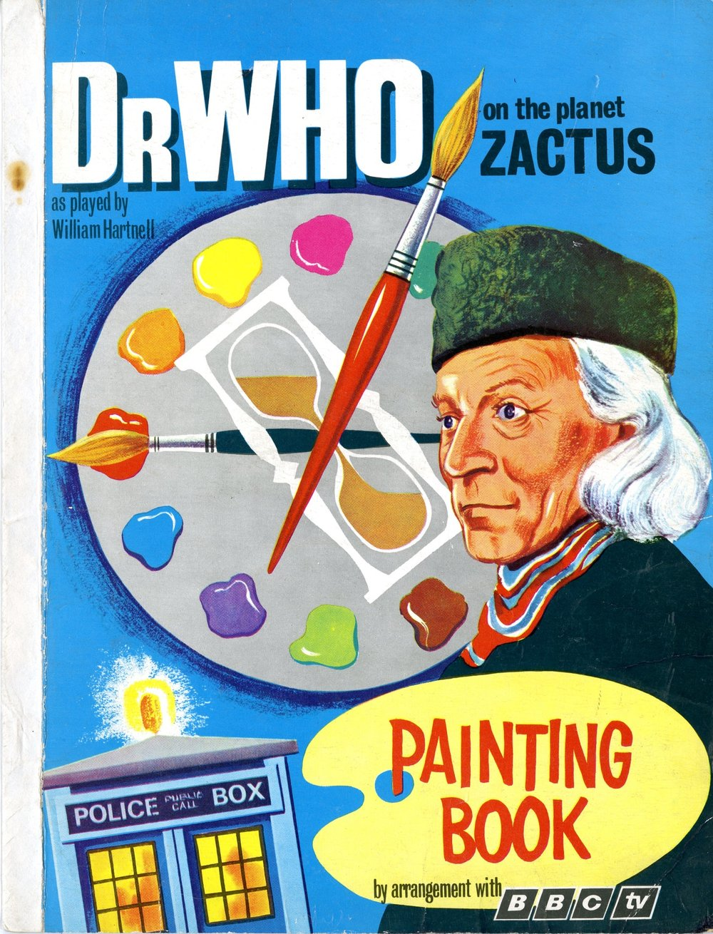 World Distributors, Dr. Who On The Planet Zactus Painting Book