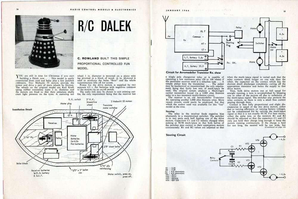 Radio Control Models and Electronics, January 1966