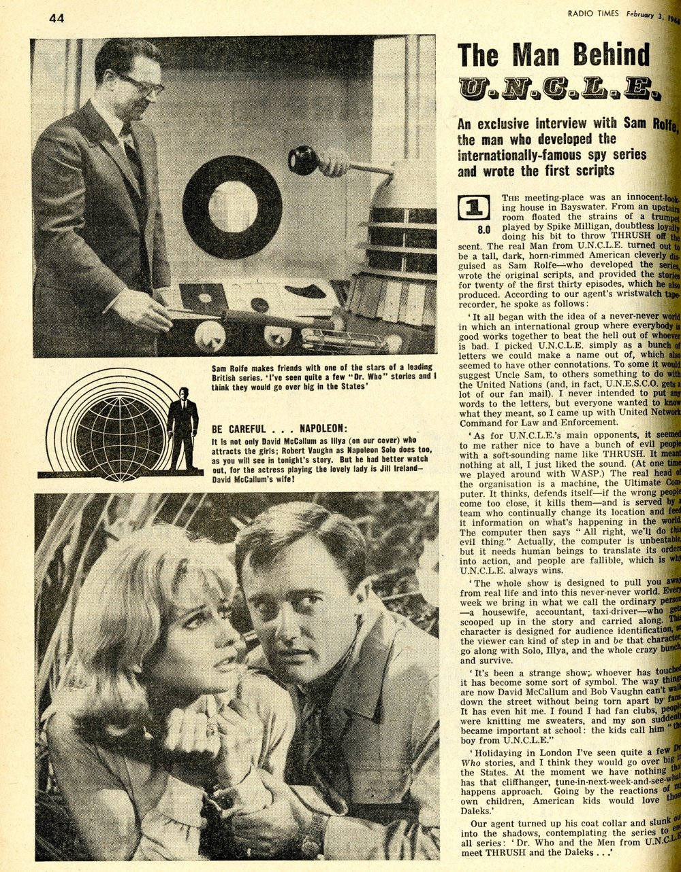 Radio Times, 5-11 February 1966
