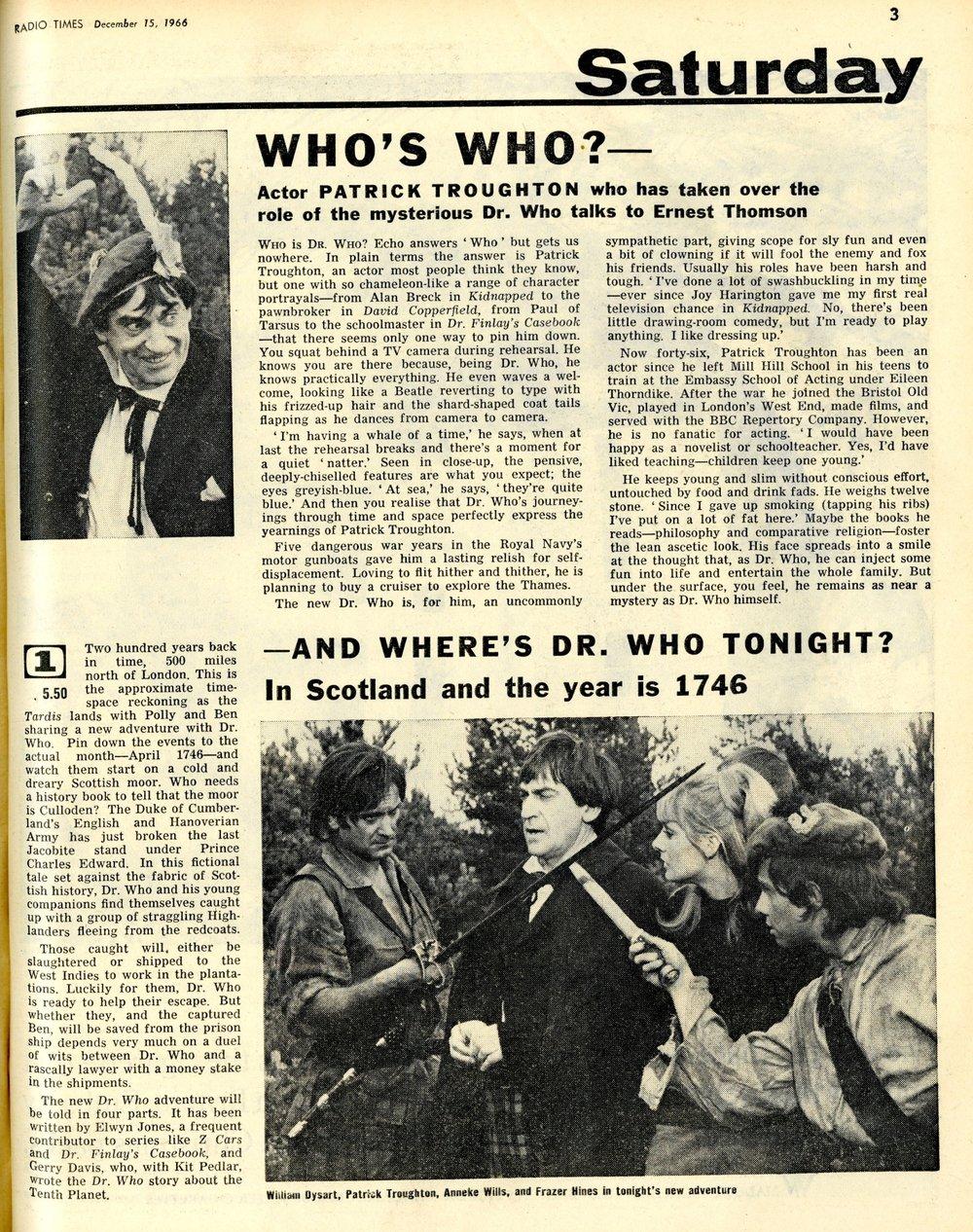 Radio Times, 17-23 December 1966