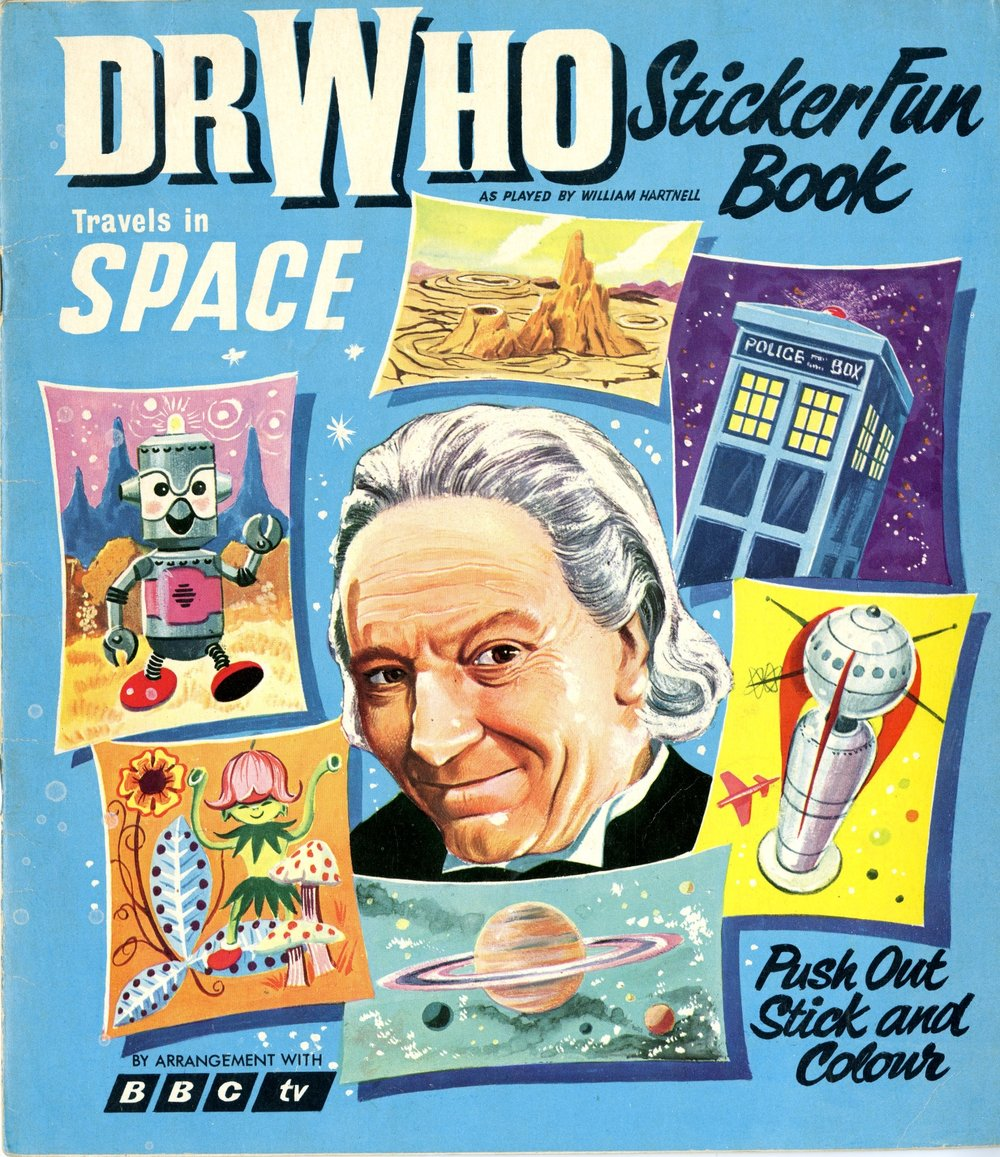 World Distributors, Dr. Who Travels in Space Sticker Fun Book