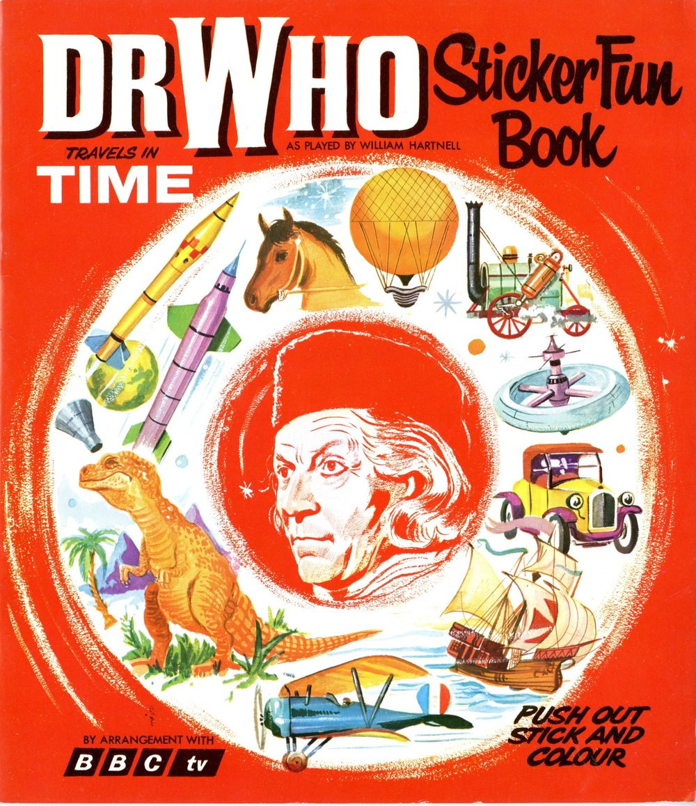 World Distributors, Dr. Who Travels in Time Sticker Fun Book