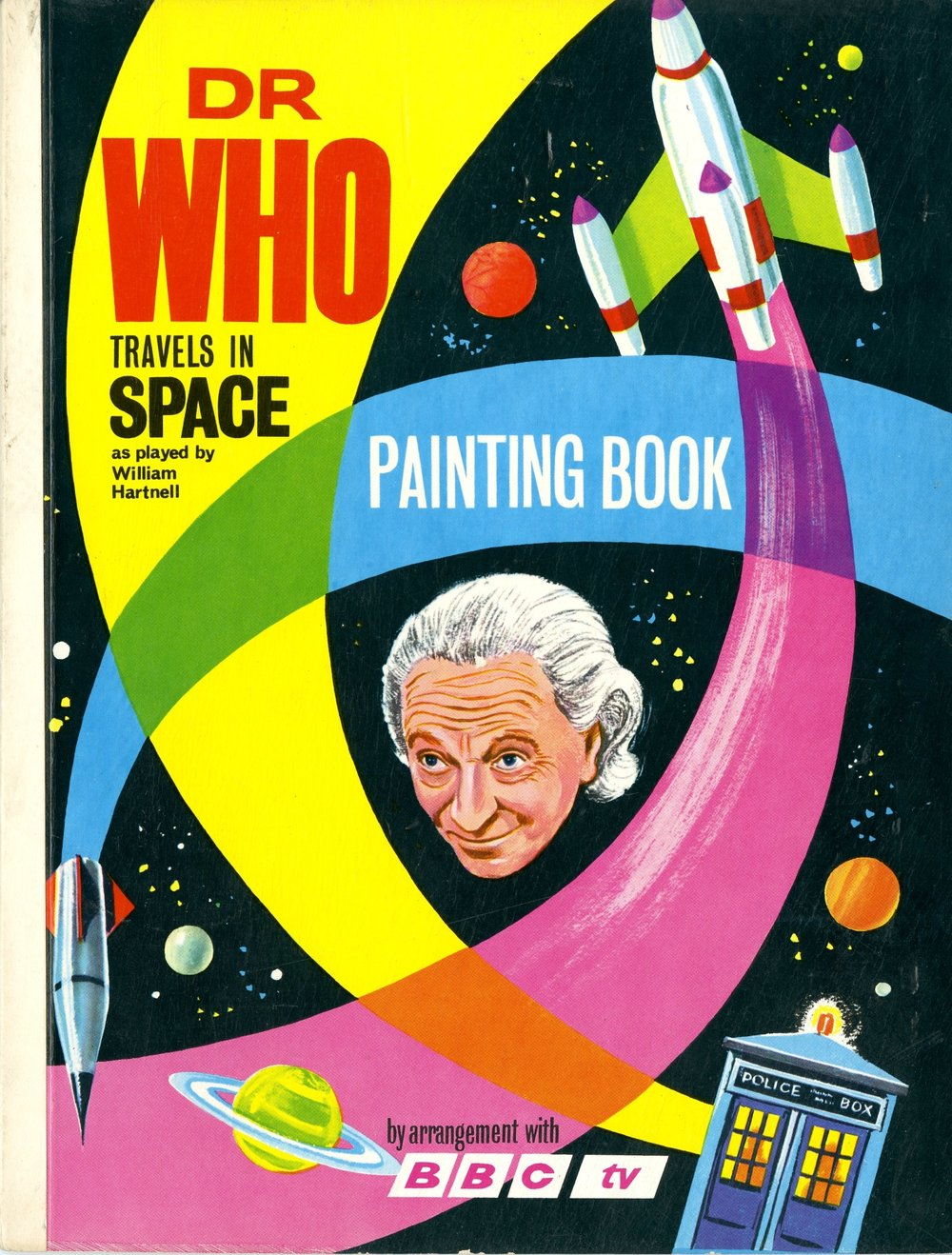 World Distributors, Dr. Who Travels in Space Painting Book