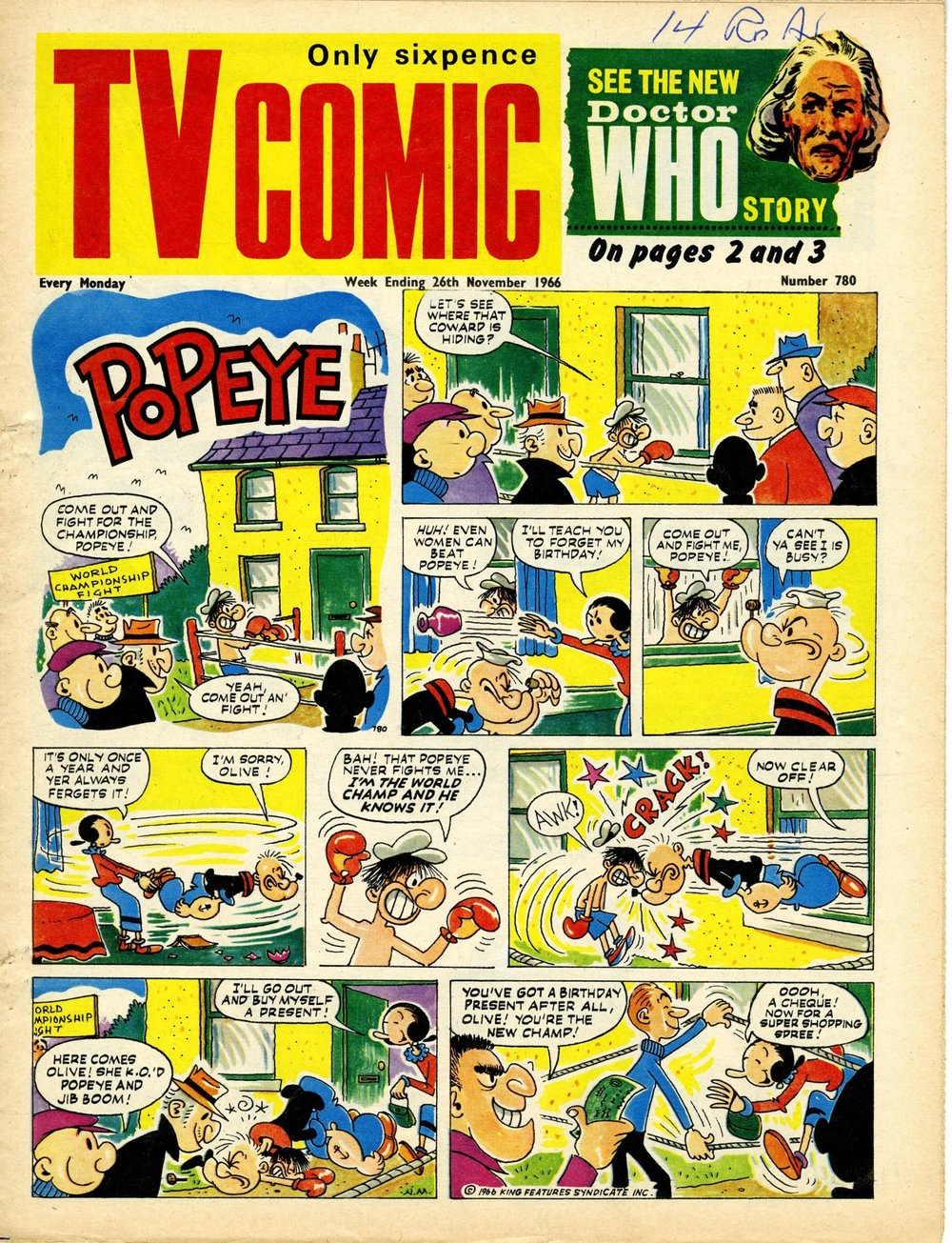 TV Comic, no. 780, 26 November 1966