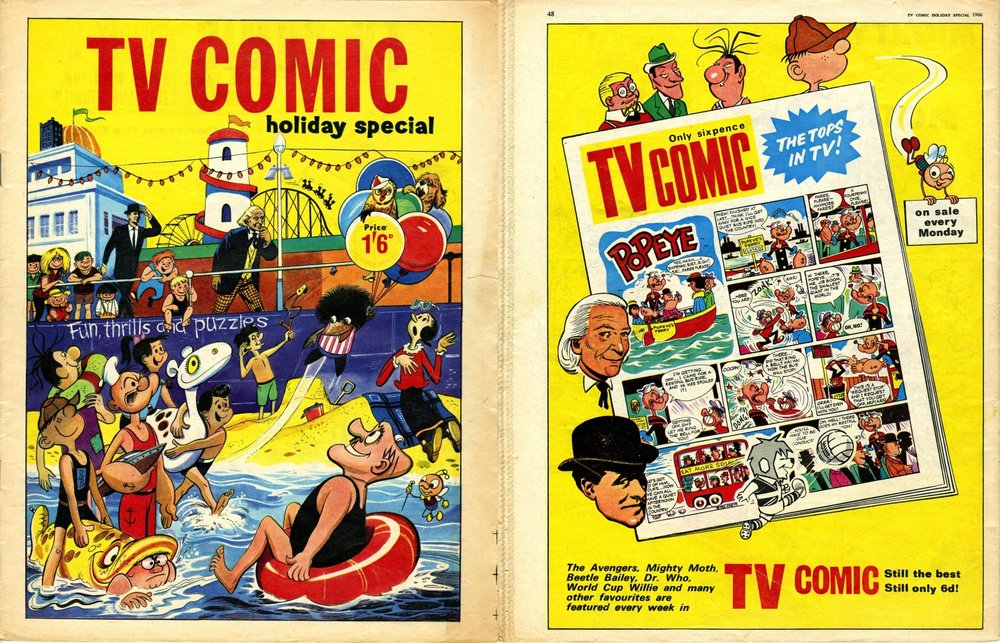 TV Comic Holiday Special 1966