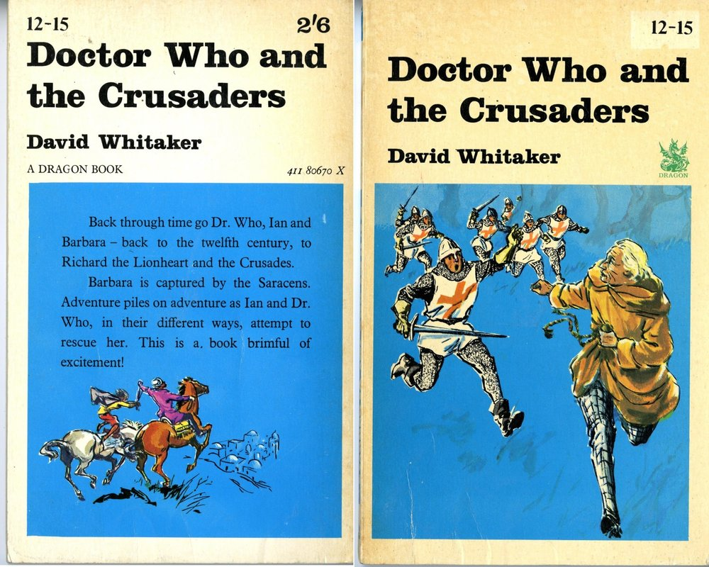 Atlantic Book Corporation Ltd., Dragon imprint, Doctor Who and the Crusaders paperback edition