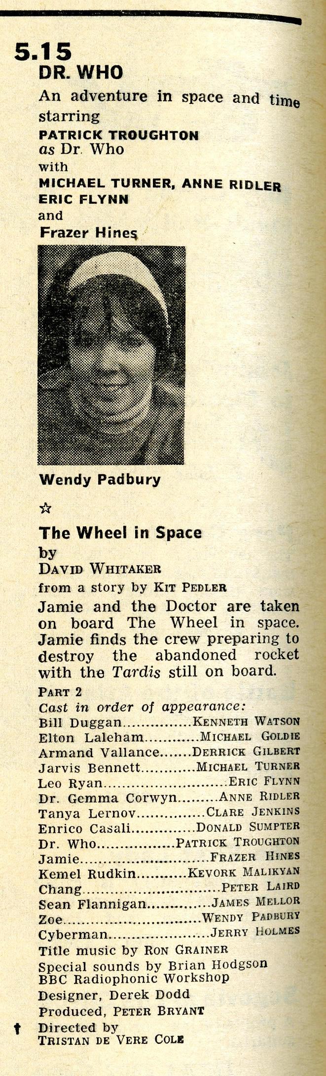 Radio Times, 4-10 May 1968