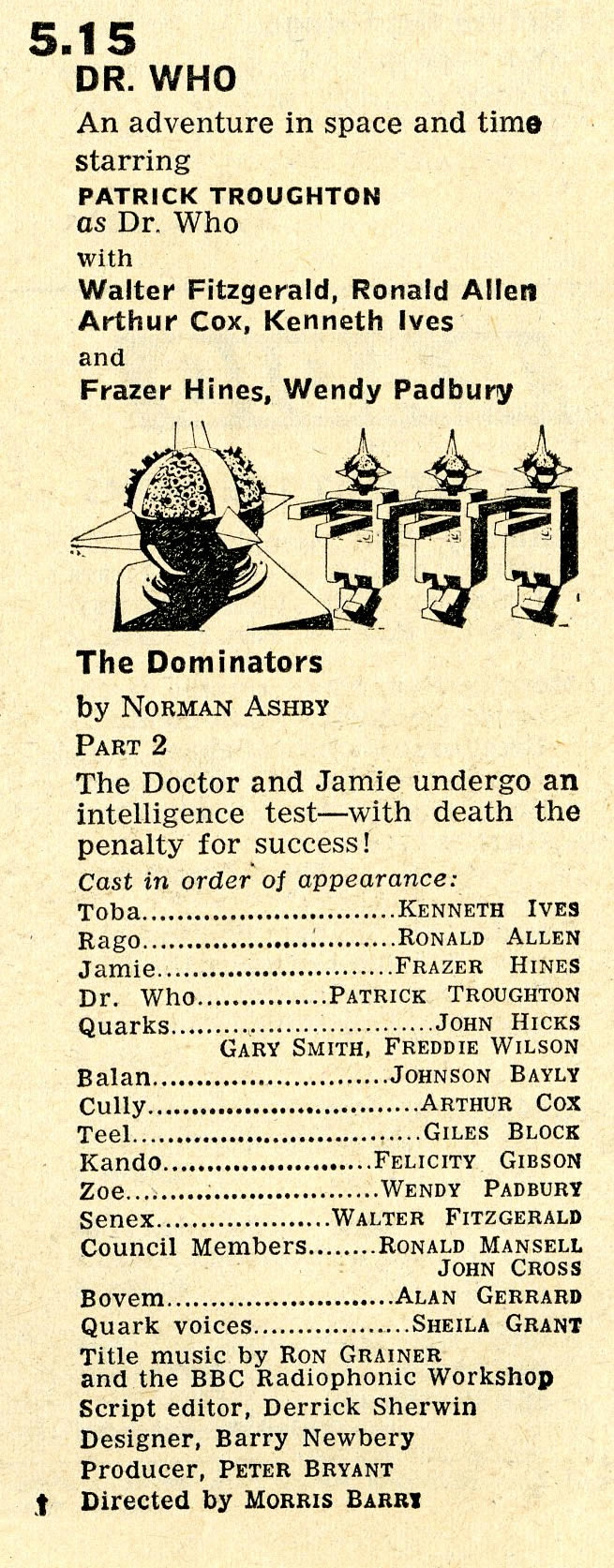 Radio Times, 17-23 August 1968