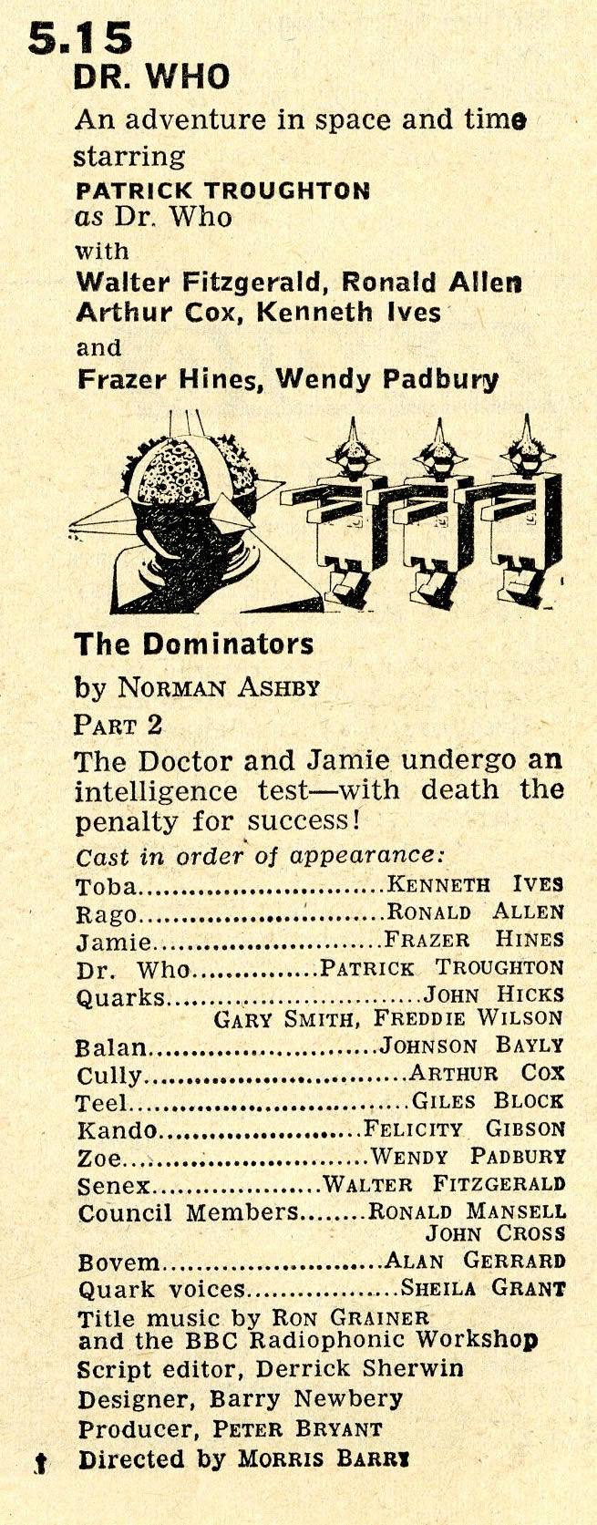 Radio Times, 17-23 August 1968