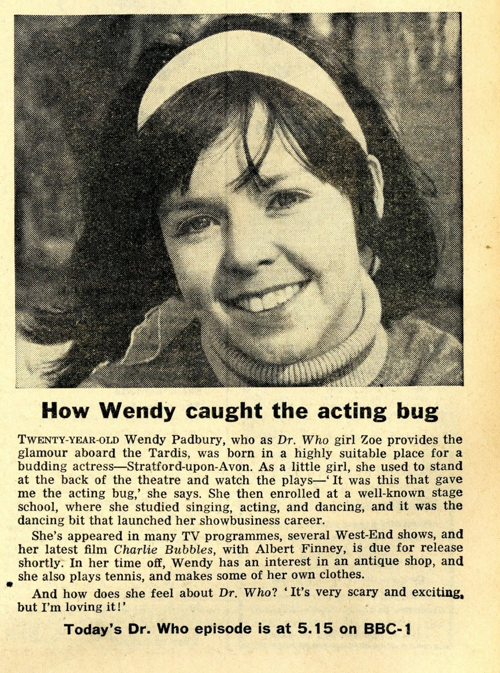 Radio Times, 31 August - 6 September 1968