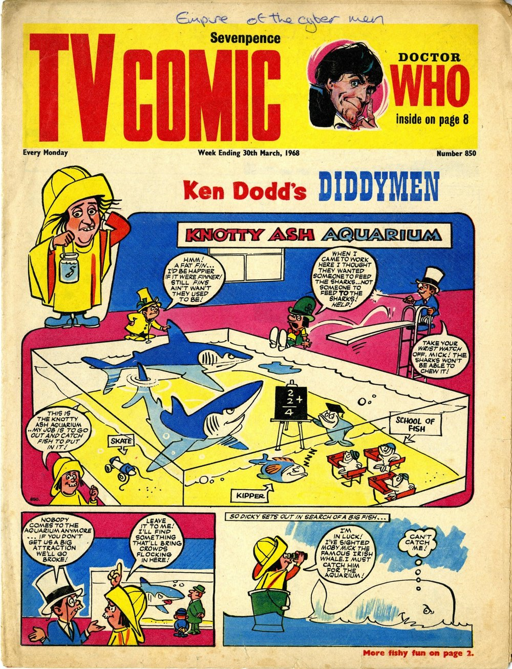 TV Comic, number 850, 30 March 1968