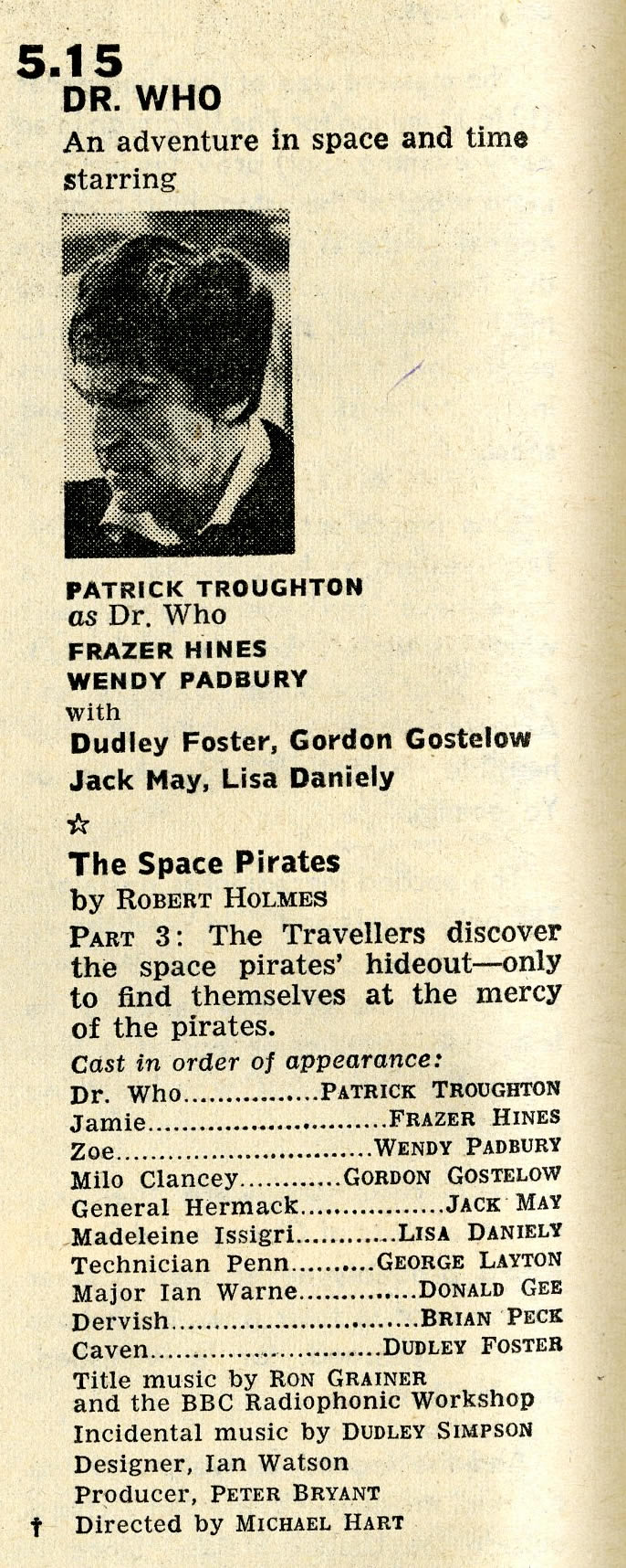 Radio Times, 22-28 March 1969
