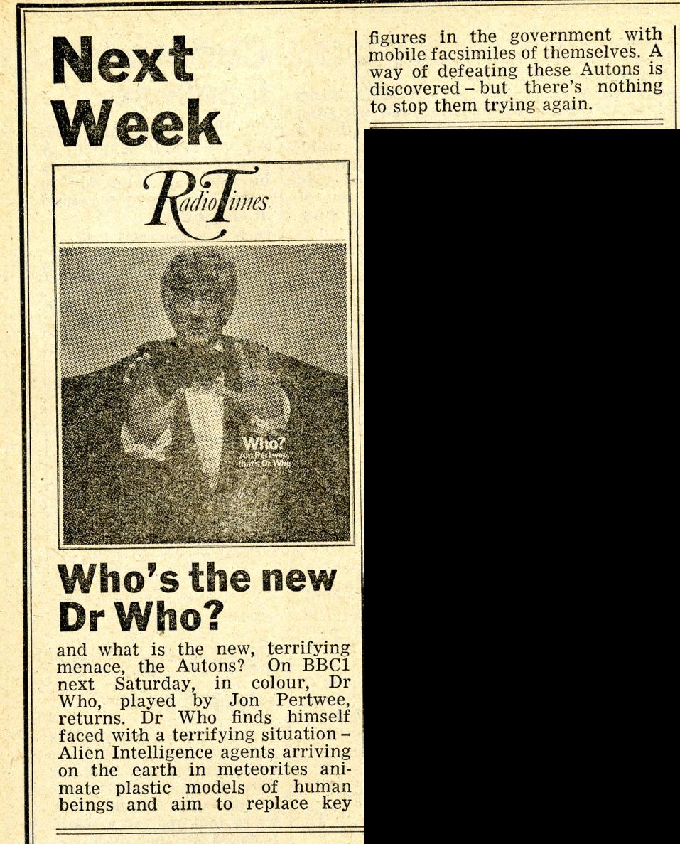 Radio Times, 20 December 1969 - 2 January 1970