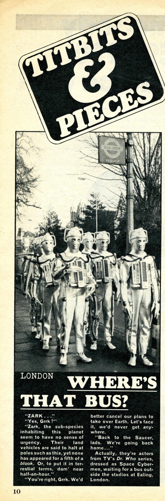 Titbits, 5 April 1969