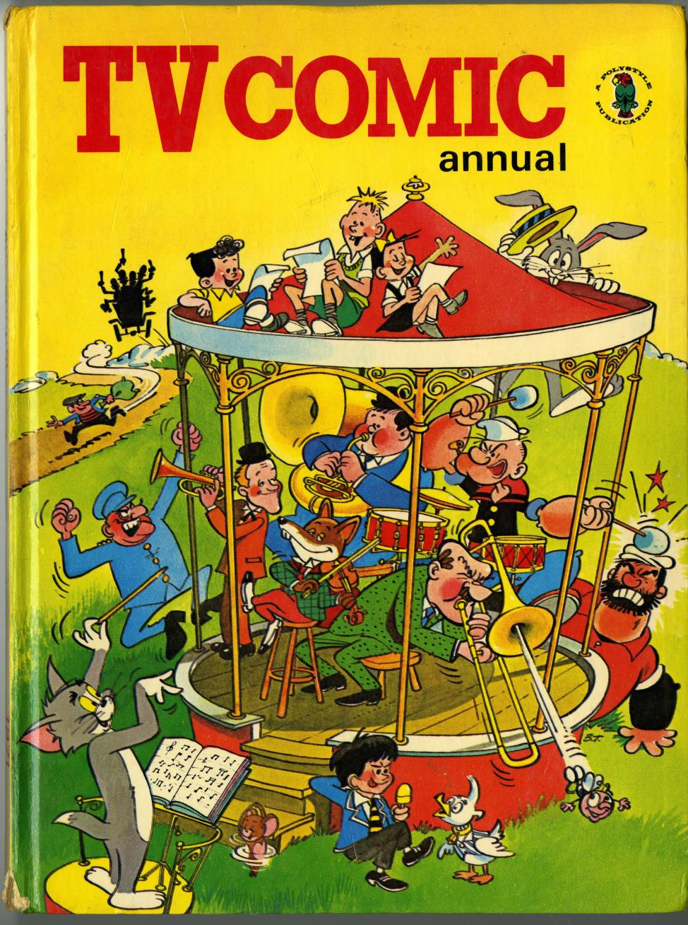 TV Comic Annual 1971 (published 1970)